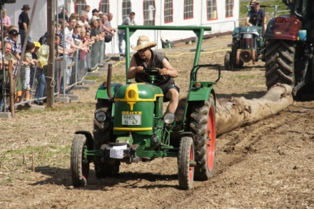 Traktorpulling kirkenær 2017